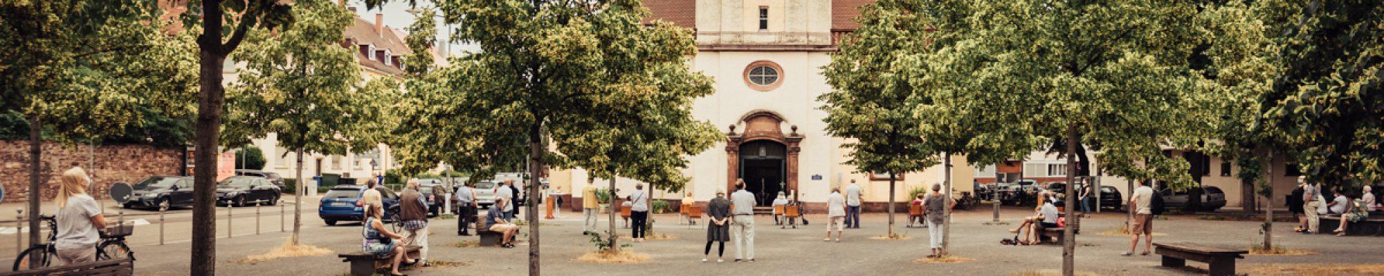 Karl-Friedrich-Gemeinde-Karlsruhe-Outdoor-Gottesdienst-Corona